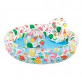 Set de piscina infantil hinchable con flotador y pelota | Piscinas para niños online en Distria