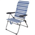 Cadeira praia alta dobrável multiposição – Distria.com