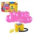 Hinchador eléctrico con 16 globos de fiesta autosellantes Bunch O Balloons
