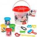 Kit cubo plastilina Mickey con 4 botes de 57 g, accesorios y moldes Disney