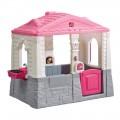 Casa de jardín Neat & Tidy rosa Step2