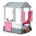Casa de campo Courtyard Cottage rosa Step2