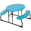 Mesa de picnic para crianças LIFETIME | Distria.com